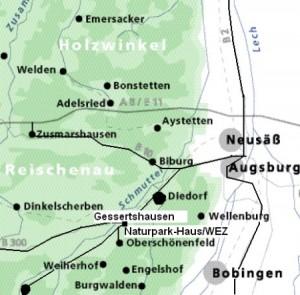 Naturpark entdecken Karte